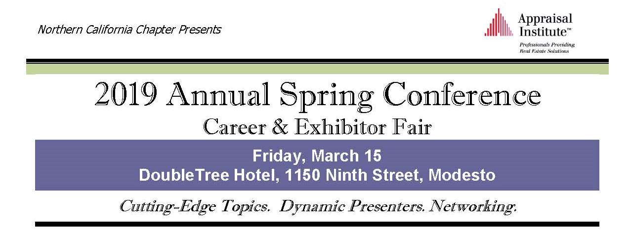 2019 Annual Spring Conference
