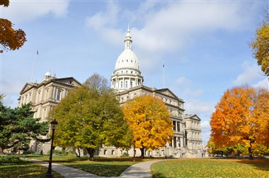 Michigan's state Capitol
