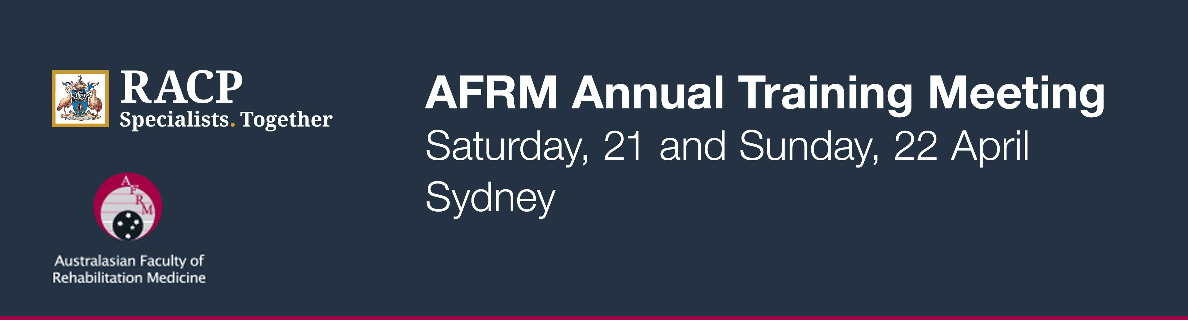 AFRM Annual Trainee Meeting 2018