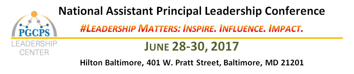 National Assistant Principal Leadership Conference