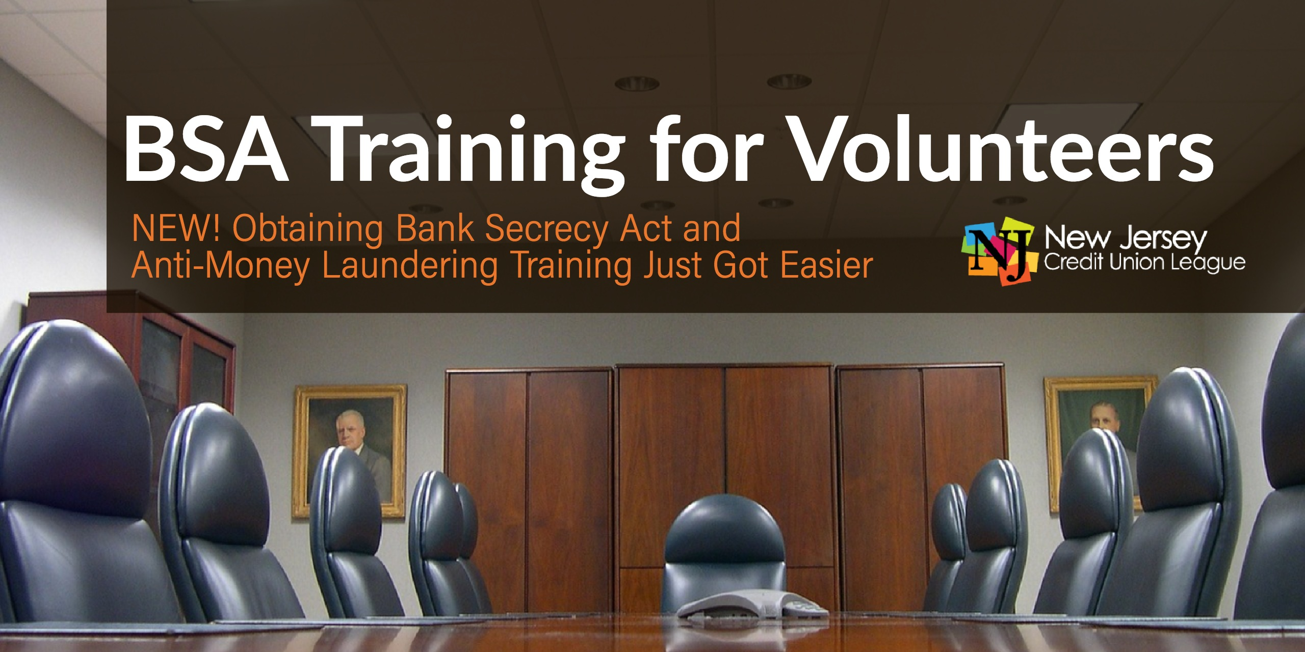 2018 BSA Training for Credit Union Volunteers