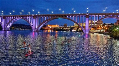 SUP on TN River