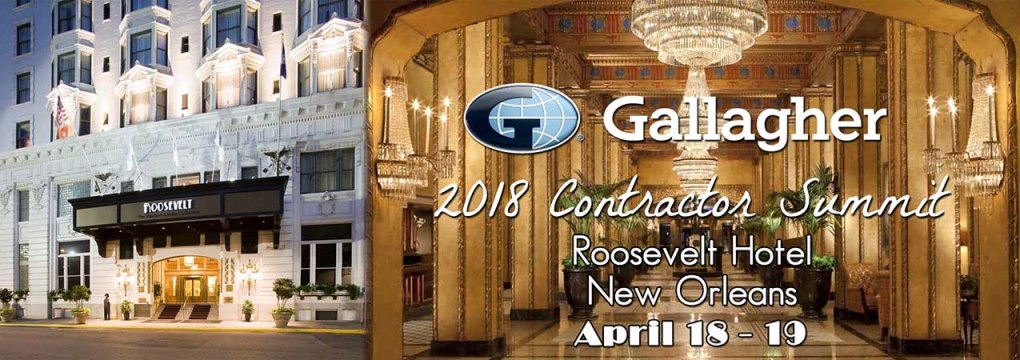 2018 Gallagher Contractor Summit, New Orleans, LA