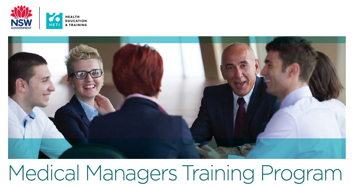 Medical Managers Training Program 2019
