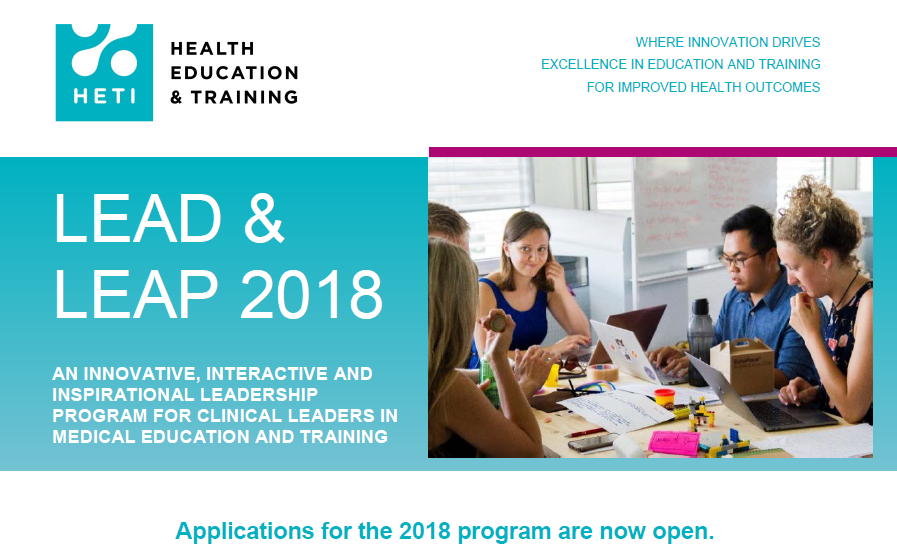 Lead and Leap 2018