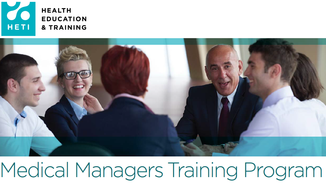 Medical Managers Training Program