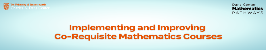 Implementing and Improving Co-requisite Mathematics Courses