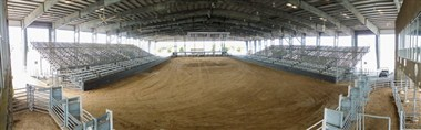 Ross Kelley Rodeo Arena floor