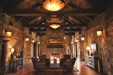 Pronghorn Resort Lobby