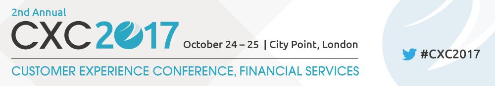 2nd annual Customer Experience Conference, Financial Services
