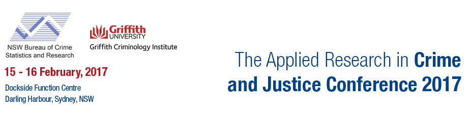 The Applied Research in Crime and Justice Conference 2017