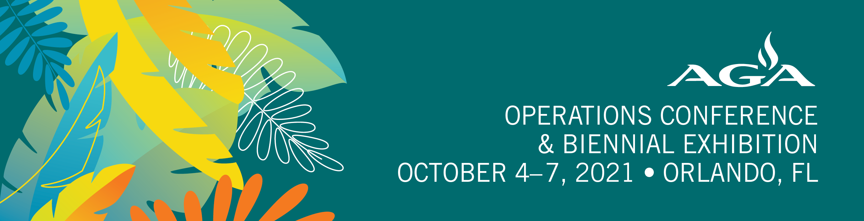 2021 AGA Operations Conference & Biennial Exhibition & Fall Committee Meetings *