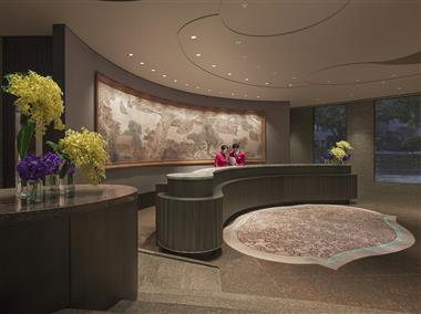 Hotel Lobby - Front Desk