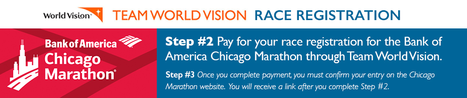 Chicago Marathon Payment | Team WV