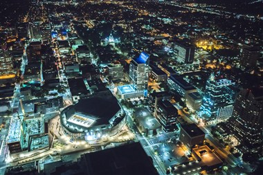Sacramento Downtown - Aerial View