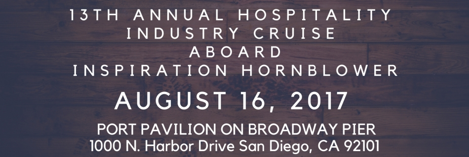 13th Annual Hospitality Industry Cruise Aboard the Inspiration Hornblower