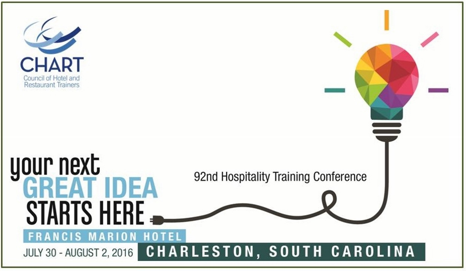 CHART 92nd Hospitality Training Conference Charleston