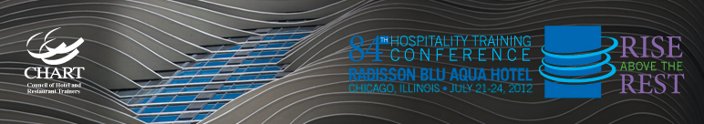 CHART 84th Hospitality Training Conference Chicago