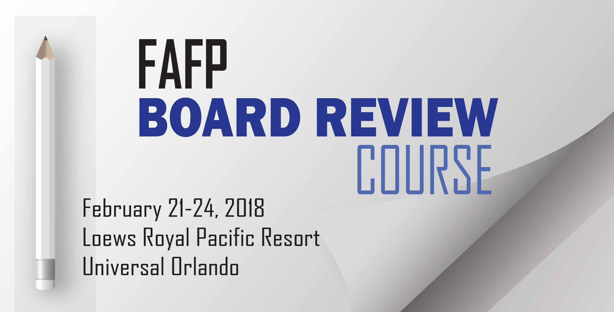 FAFP Board Review Course 2018