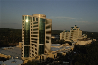 Foxwoods and MGM Grand at Foxwoods at Sunset