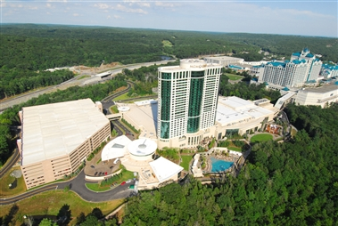 Foxwoods and MGM Grand at Foxwoods Rear View