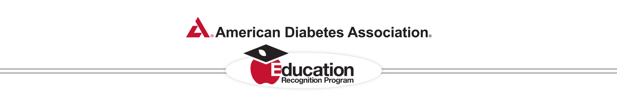 American Diabetes Association Education Recognition Program Header