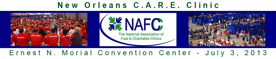 New Orleans C.A.R.E. Clinic - Communities Are Responding Everyday
