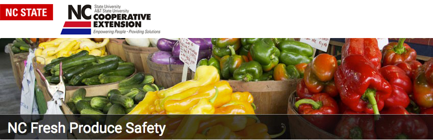 Produce Safety Rule Growers Training - Elkin, NC