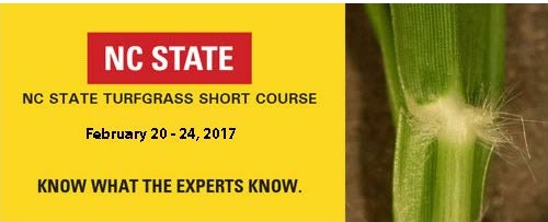 2017 NC State Turfgrass Short Course
