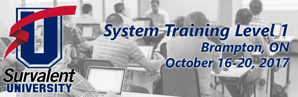 System Training Level 1 - Brampton, ON