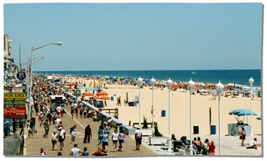 Ocean City's Famous Boardwalk