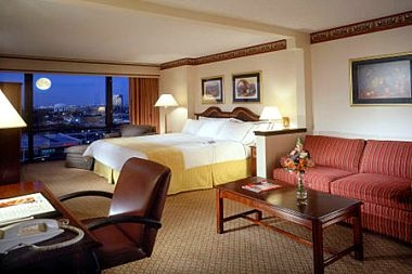 Our Spacious Plaza Level King Room