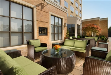 Doubletree Outdoor Patio