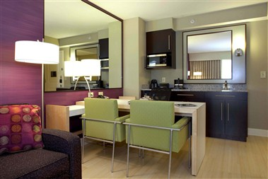 Suites- Living Room
