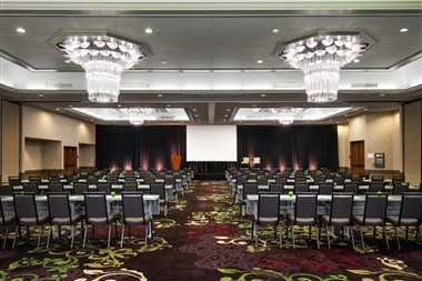 Grand Ballroom Set Classroom Facing Front