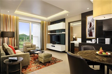 1 Bedroom Suite Living area