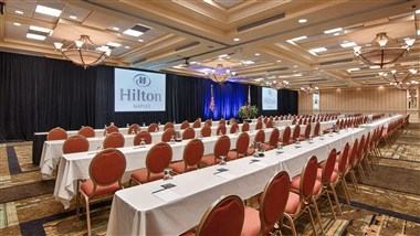 Royal Palm Ballroom Classroom Setup