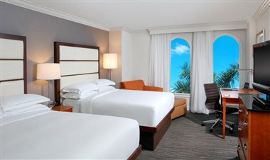 Hilton Naples Hotel Double Guest Rooms