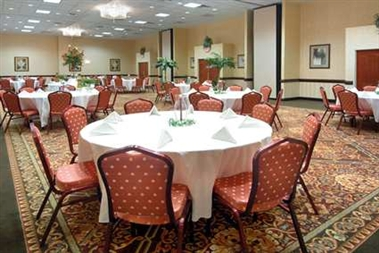 Banquet-Style Set up Room