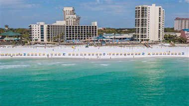 Hilton Sandestin Beach - View from Gulf