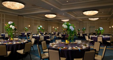 Emerald Ballroom - Banquet Set Up
