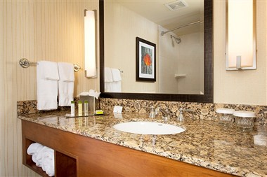 Rennovated Guest Room Bathroom