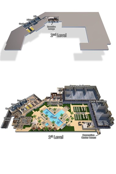 3D Hotel Layout