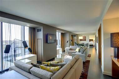 Vice Presidential Suite - South View