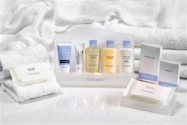 Sleeping Rm-Neutrogena Amenities