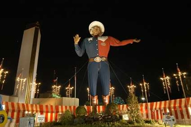 Big Tex at State Fair