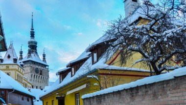 Sighisoara and Snow