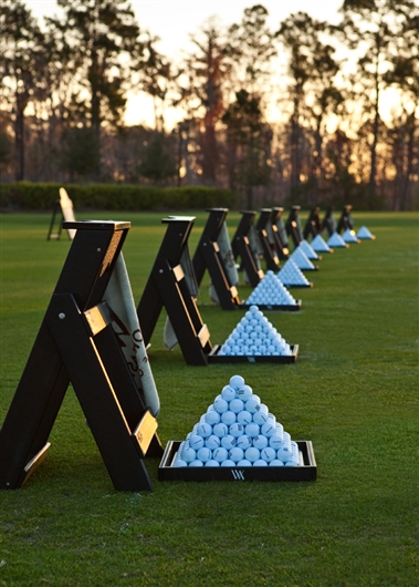 Waldorf Astoria Golf Club Practice Range