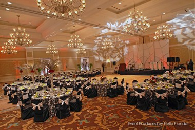 Grand Ballroom - banquet set