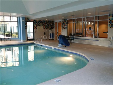Pool Facing the Fitness Center